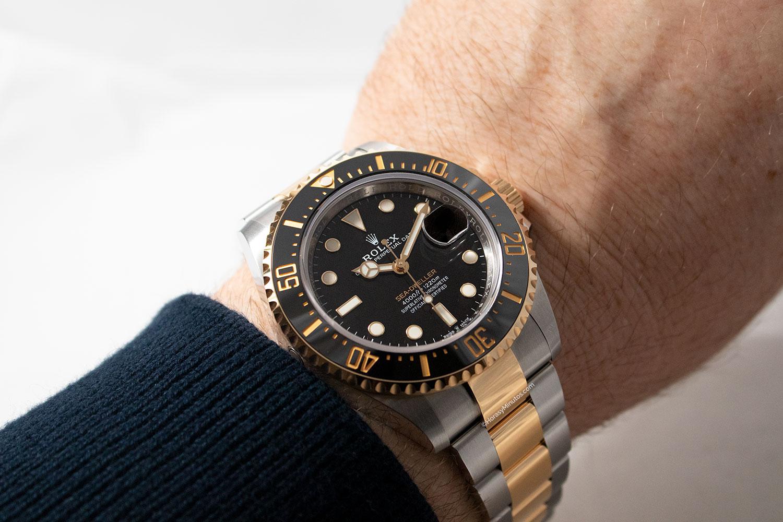 Perfil del Rolex Sea-Dweller Rolesor