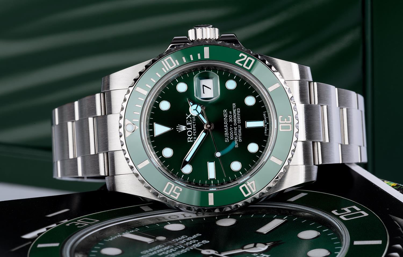 Rolex Submariner Date 116610LV The Hulk