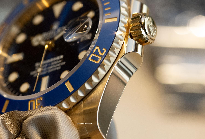 Protectores de corona del Rolex Submariner Date 41 mm 2020 126618LB