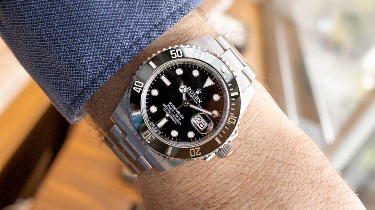 Así se ve el Rolex Submariner Date 41 mm 2020 126610LN