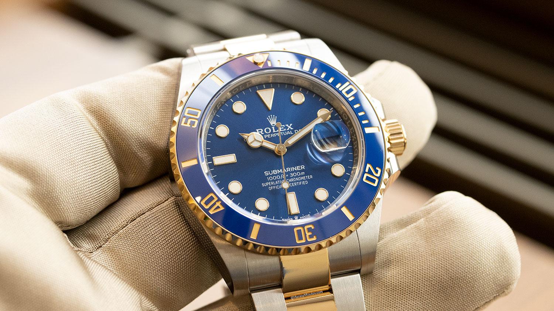 Esfera del Rolex Submariner Date 41 mm 2020 126613LB