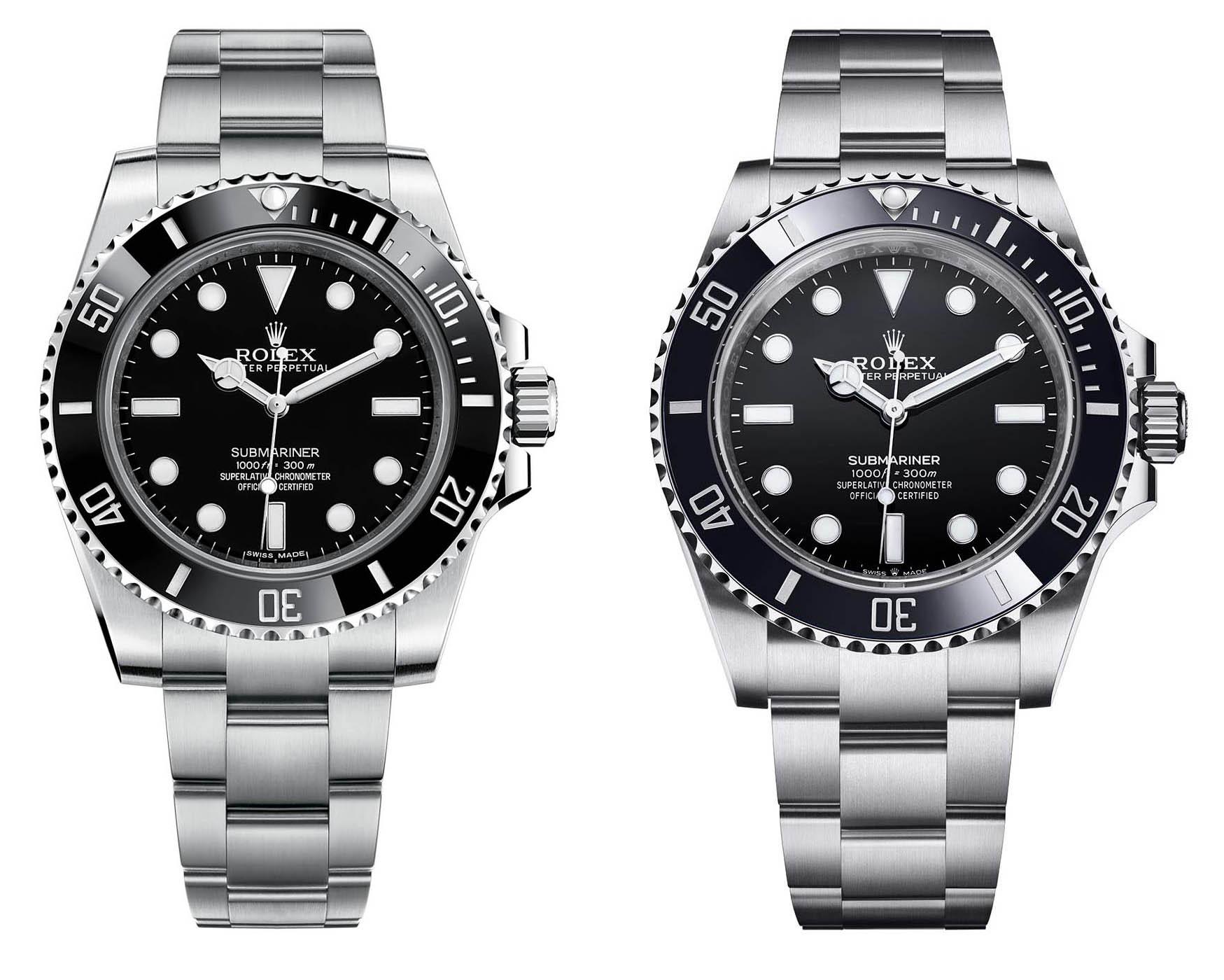 Rolex Submariner 124060 y 114060
