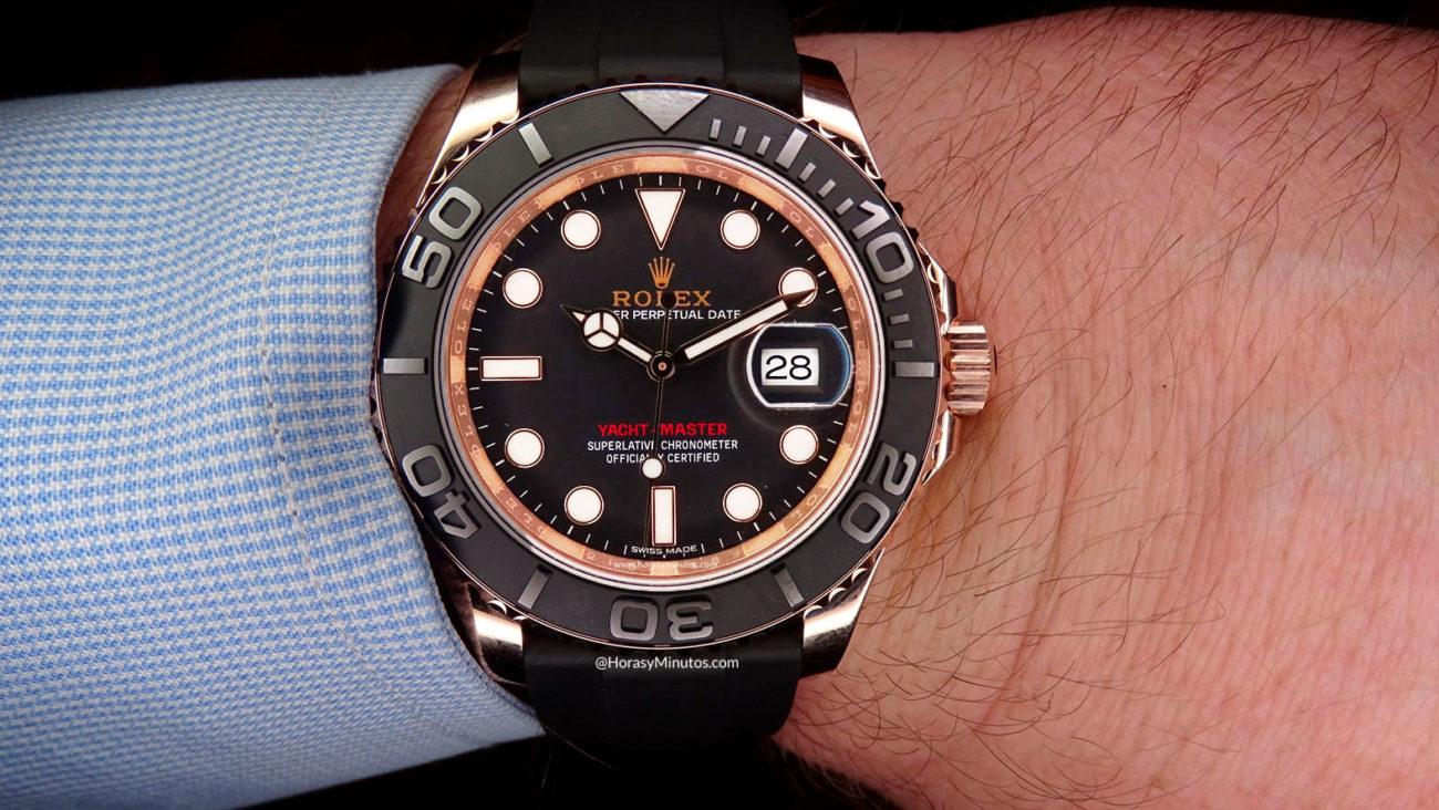 Así queda el Rolex Yacht-Master 40