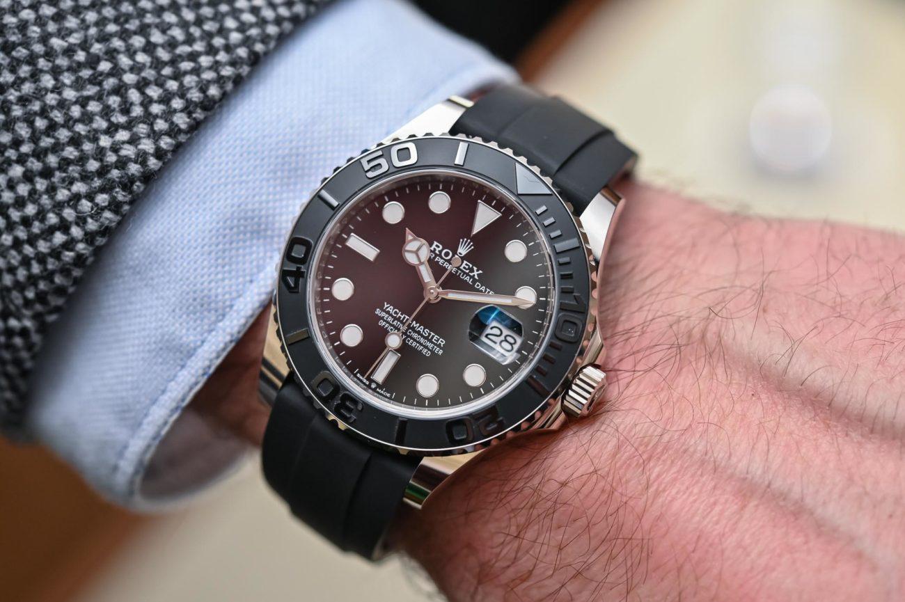 Así queda el Rolex Yacht-Master 42