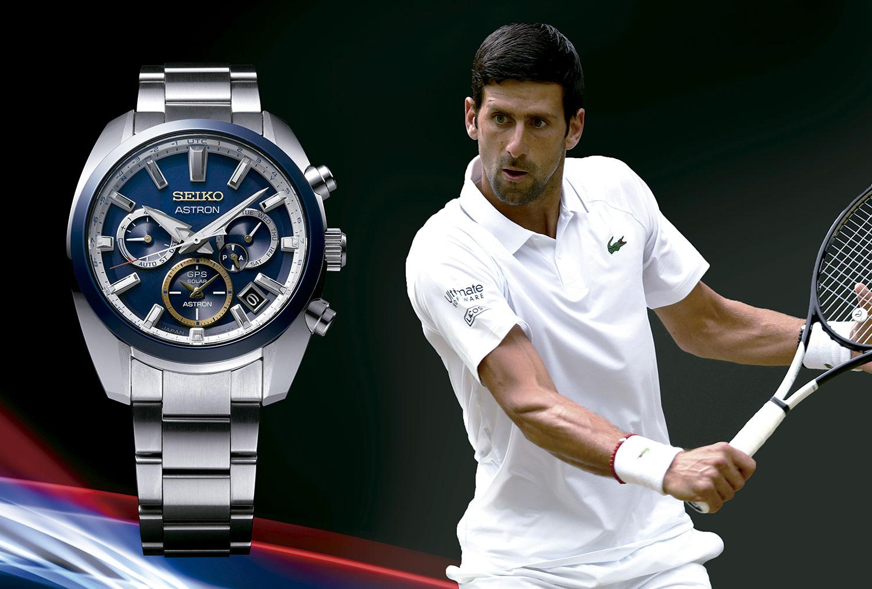 Seiko Astron Novak Djokovic SSH045