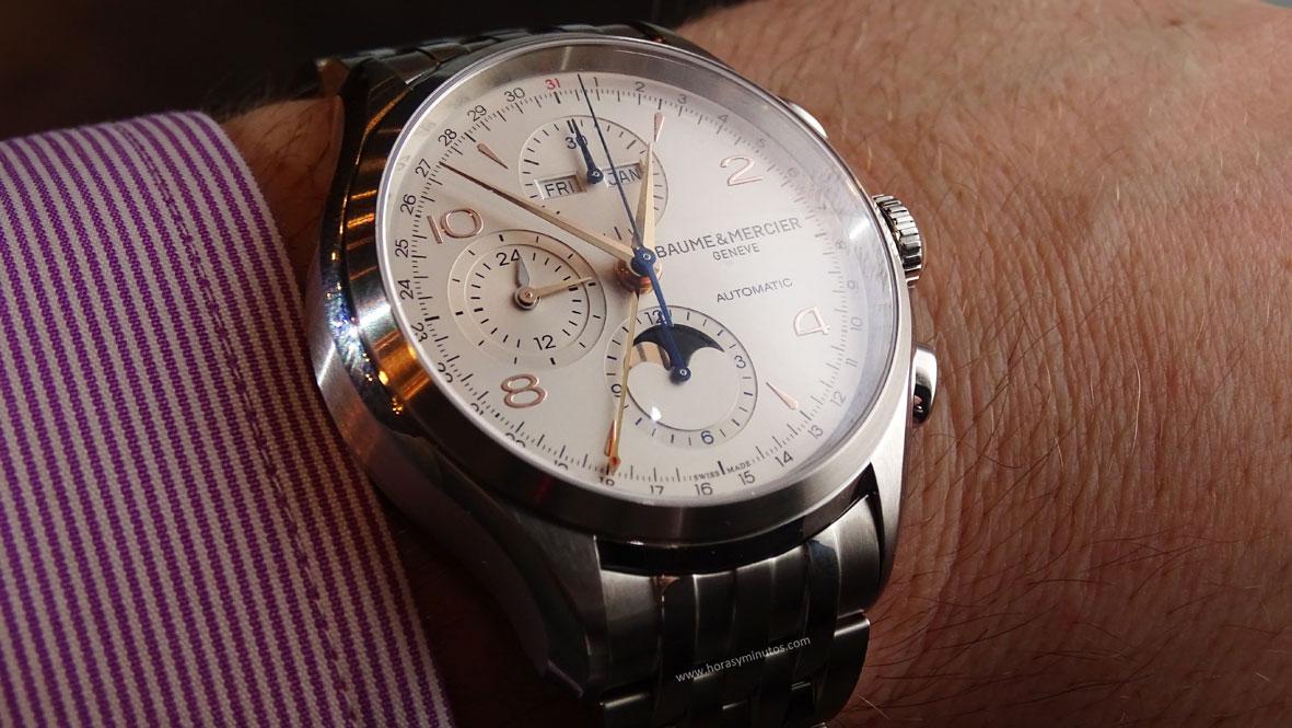 Clifton Chronograph Complete Calendar con brazalete de acero