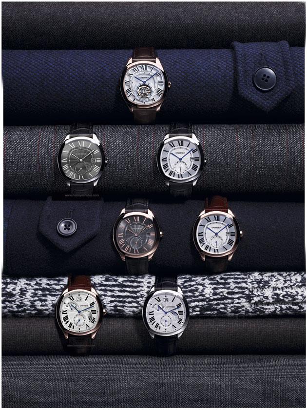 Todos los modelos Drive de Cartier