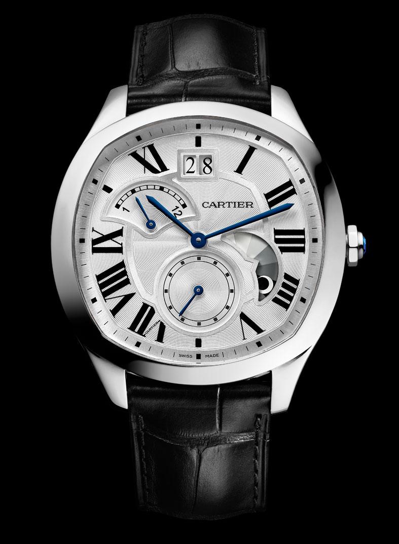SIHH-2016-Novedades-Cartier-Drive-segundo-huso-horario-acero-Horas-y-Minutos