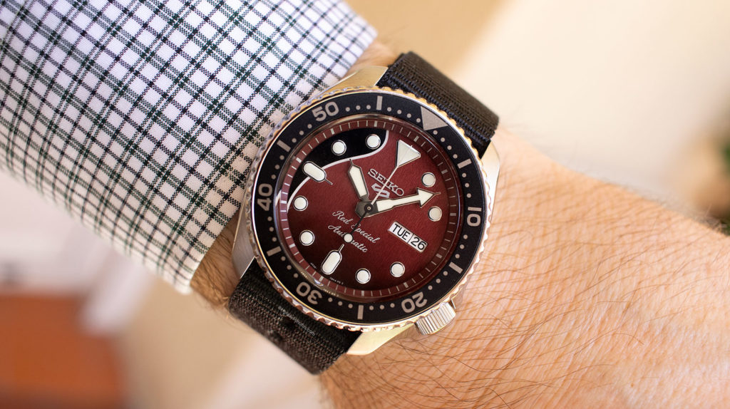Así queda el Seiko 5 Sports Brian May Limited Edition
