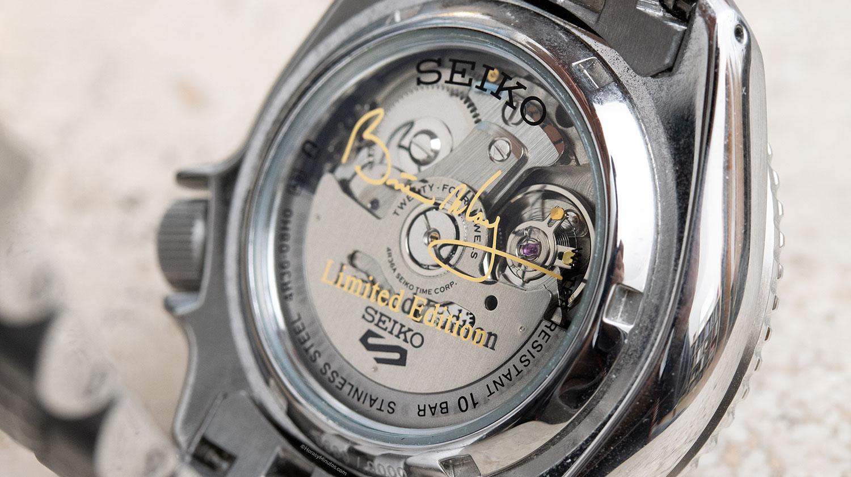 Calibre 4R del Seiko 5 Sports Brian May Limited Edition