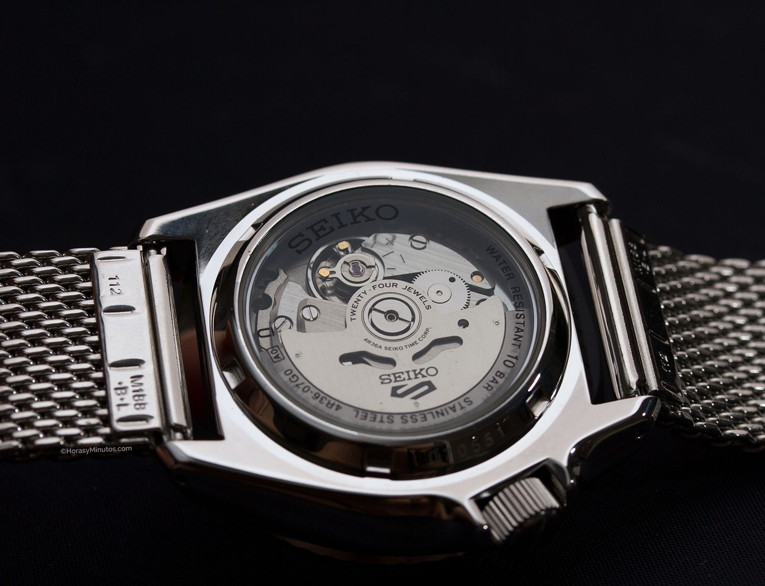 Calibre 4R36 del Seiko 5 Sports