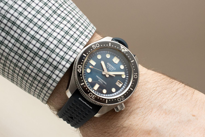 El Seiko Diver's 55th Anniversary SLA039, puesto