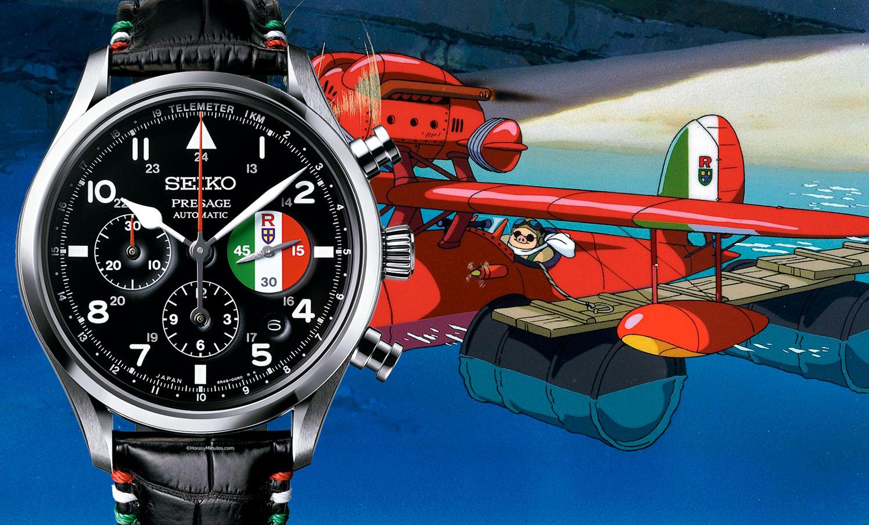 El Seiko Presage Porco Rosso SRQ033