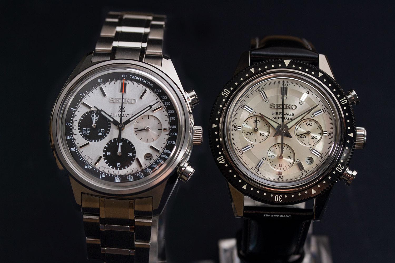 Seiko Presage y Seiko Prospex Chronograph