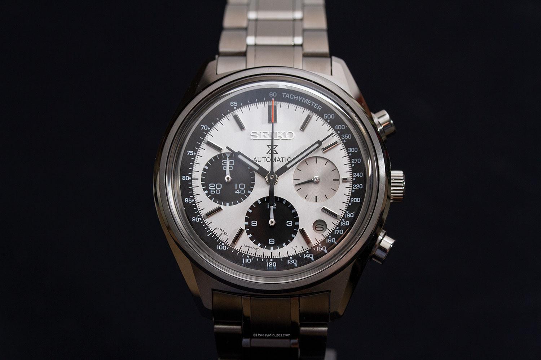Esfera del Seiko Prospex Automatic Chronograph 50th Anniversary Limited Edition SRQ029