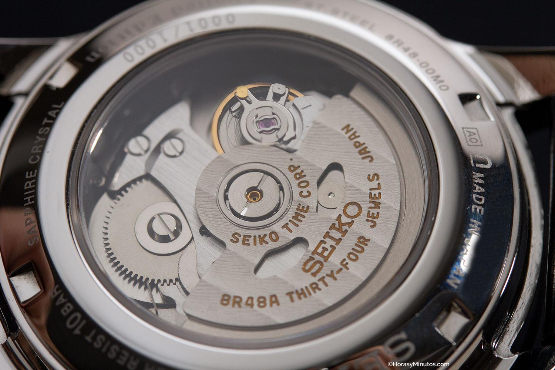 Calibre 8R48 de los Seiko Prospex y Presage Chronograph Limited Edition