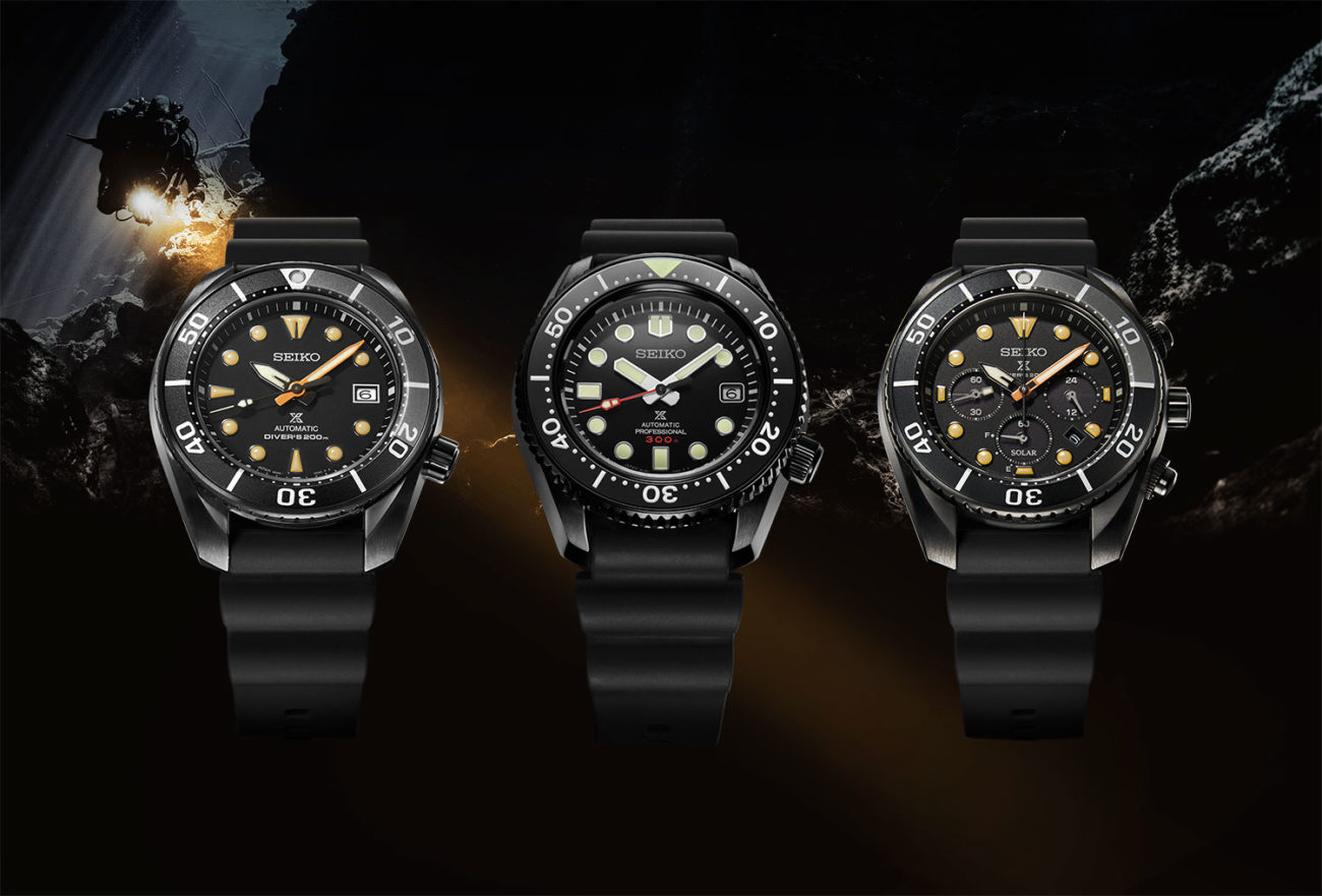 Seiko Prospex Black Series Limited Edition portada