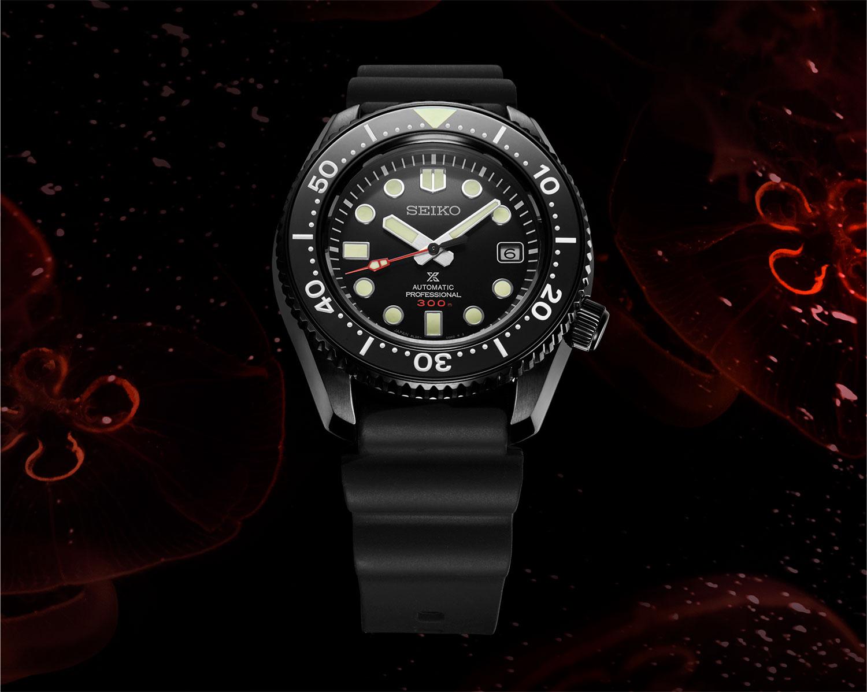 Seiko Prospex Black Series Limited Edition SLA035