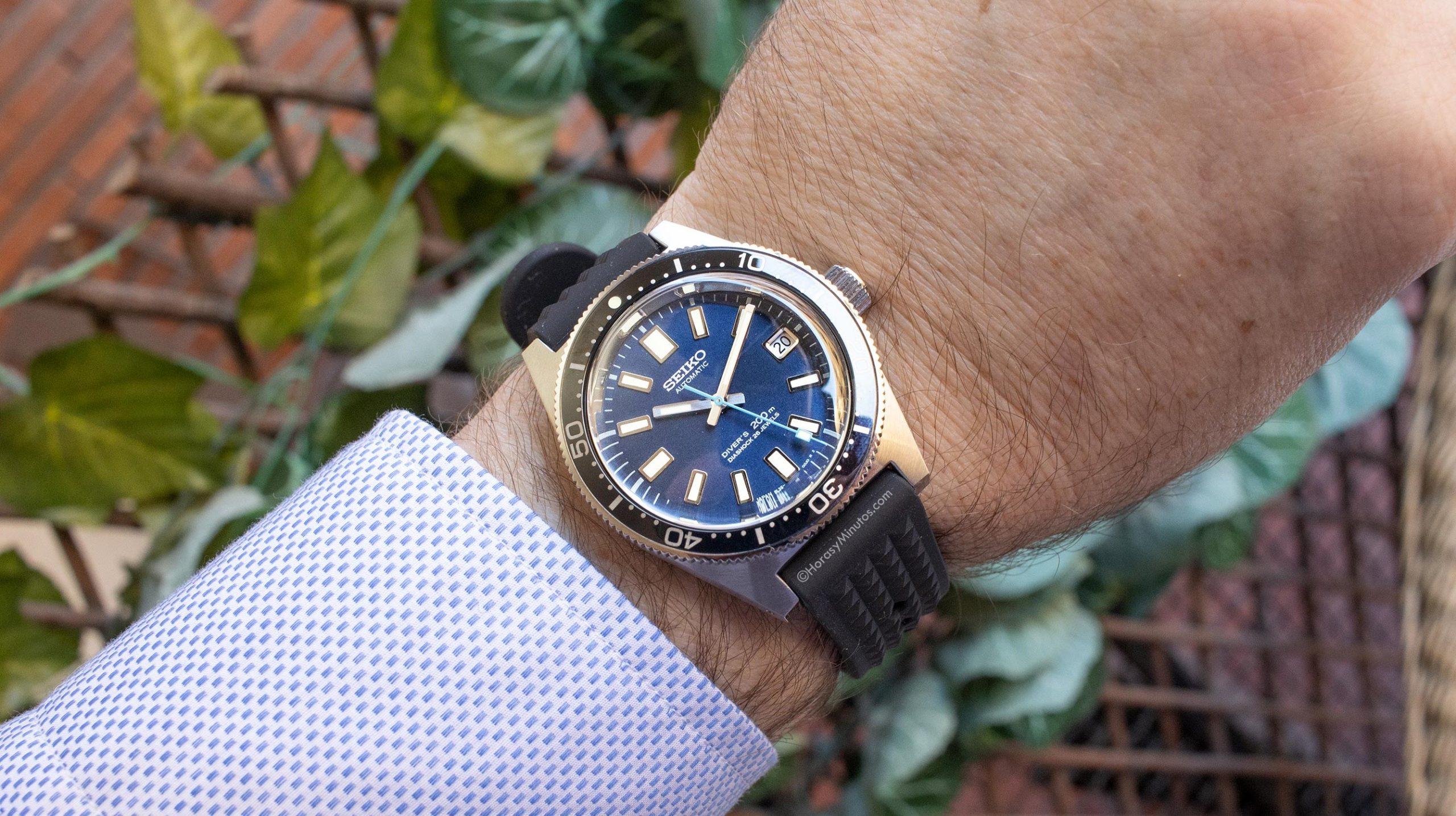 Así queda el Seiko Prospex Diver 55 Aniversario SLA043J1