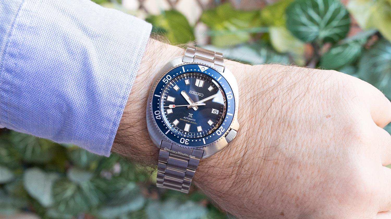 El Seiko Prospex Diver 55 Aniversario SPB183J1, puesto