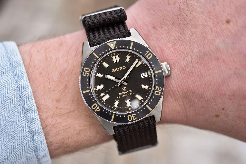 Así queda el Seiko Prospex Diver's 1965 SPB239J1