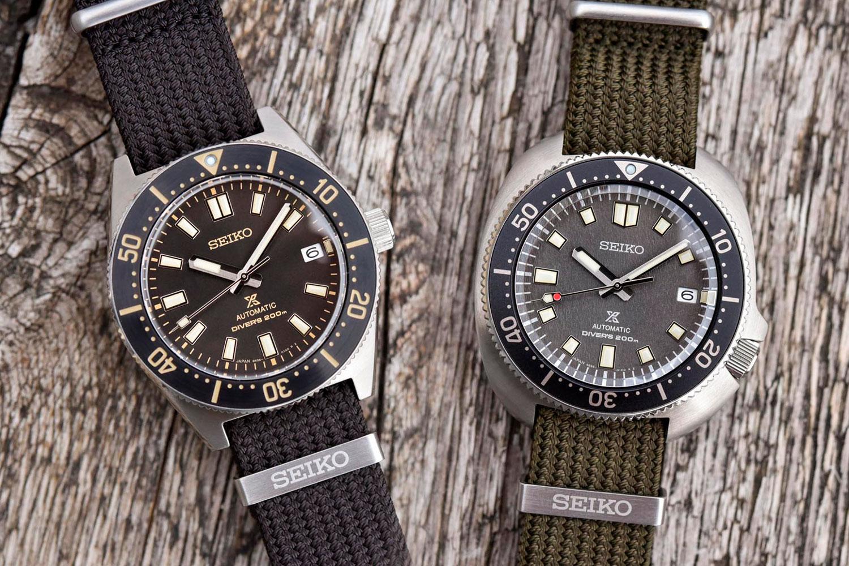 Seiko Prospex Diver's 1965 y 1970