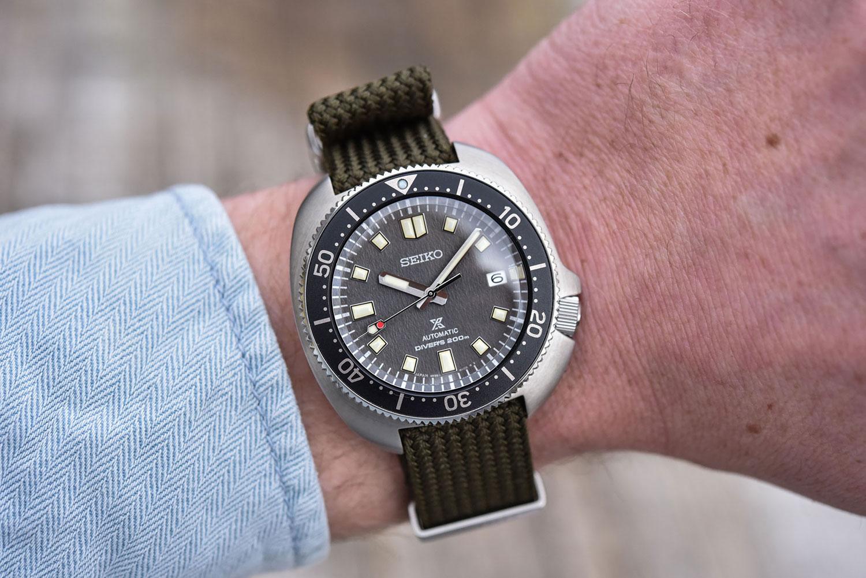 Así queda el Seiko Prospex Diver's 1970 SPB237J1