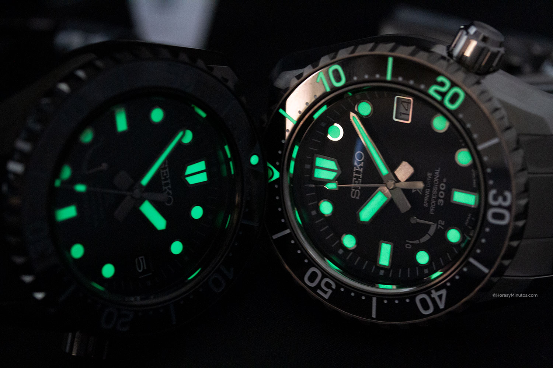 LumiBrite en los Seiko Prospex LX Sea