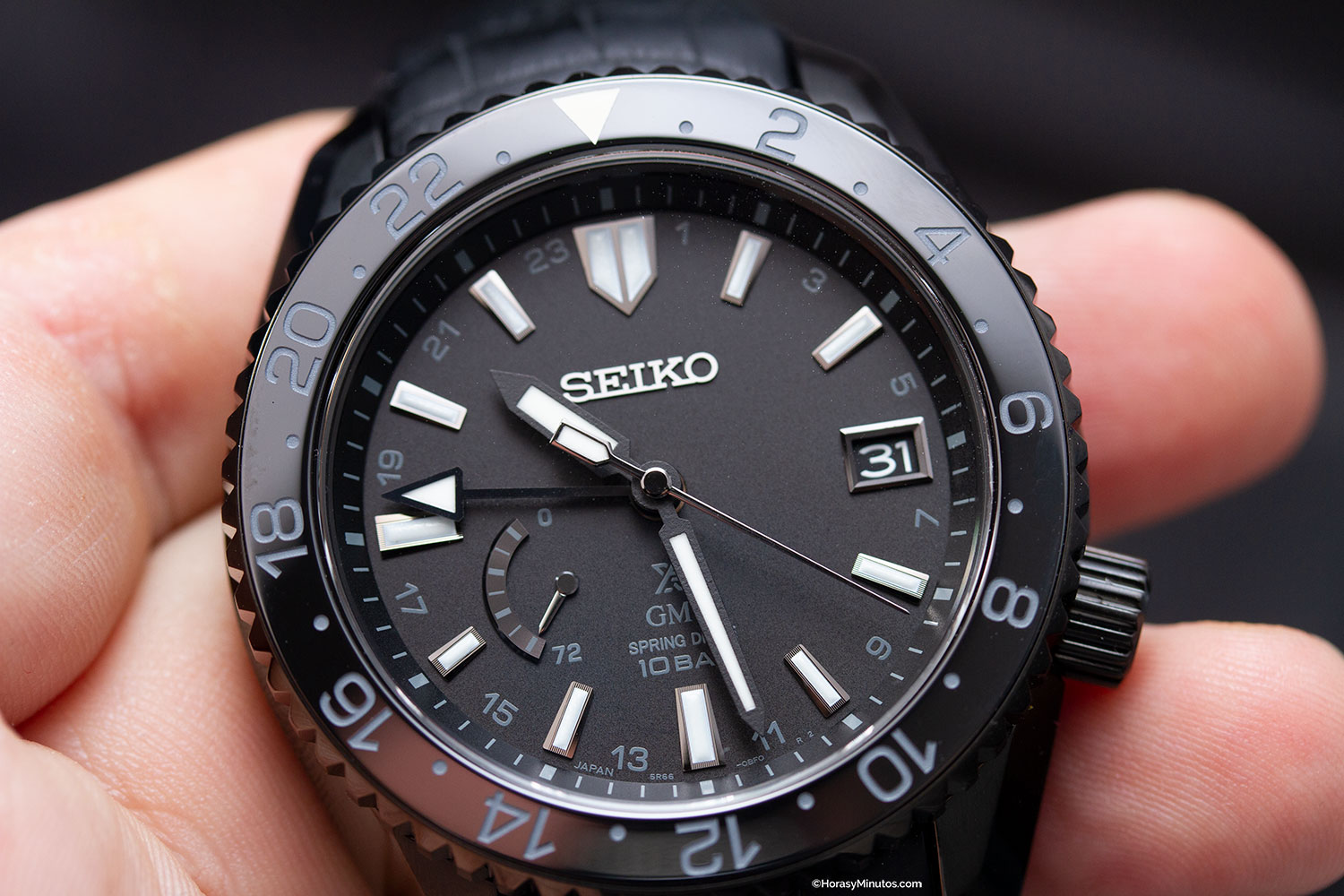 Seiko Prospex LX GMT Air Black Edition