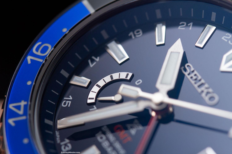 Reserva de marcha del Seiko Prospex LX GMT Air
