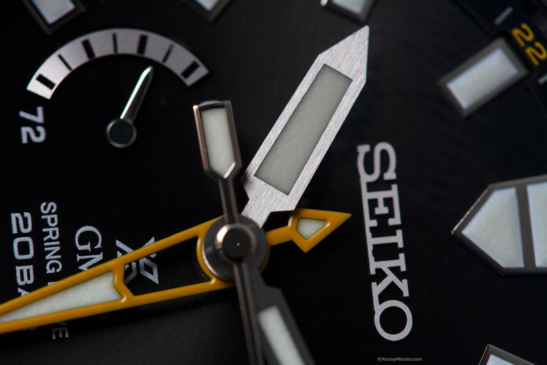 Satinado de aguja del Seiko Prospex LX