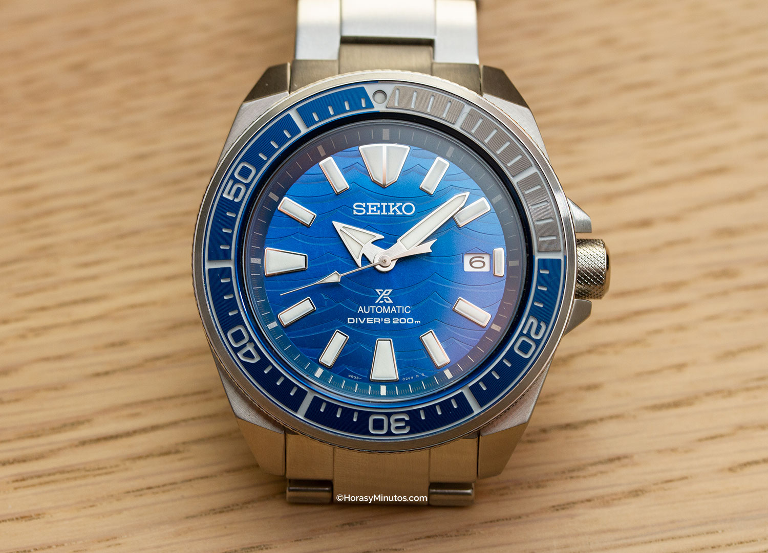 Seiko Save The Ocean Special Edition SRPD23K1
