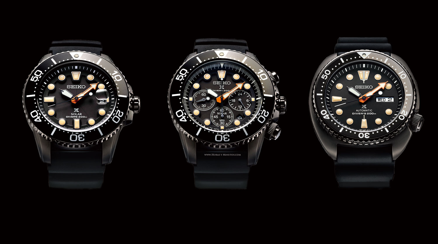 Seiko Prospex The Black Series