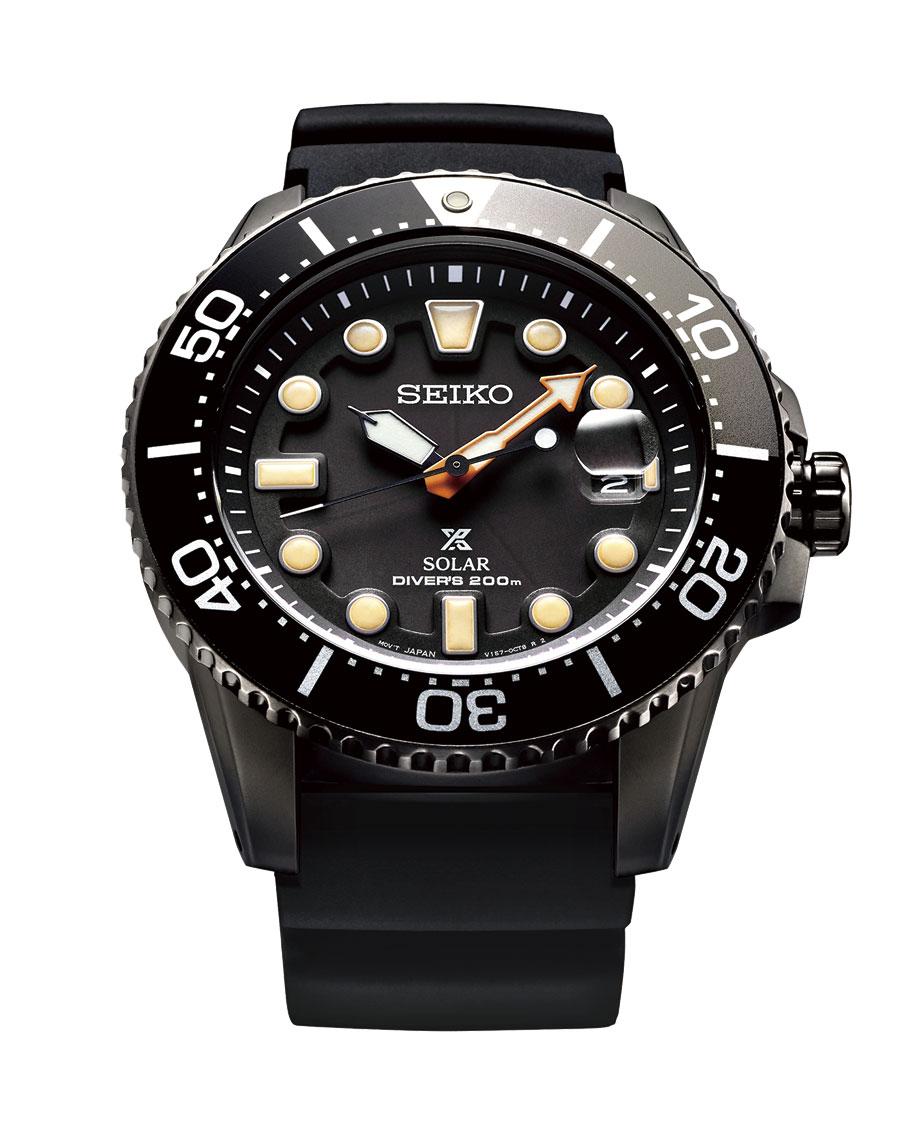 Seiko Prospex The Black Series