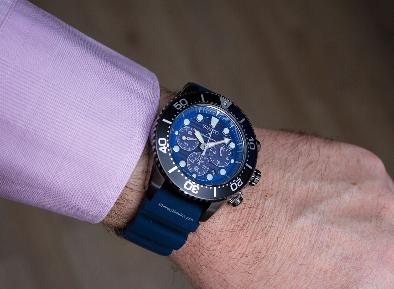 Seiko Save The Ocean Black Series