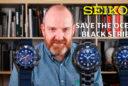 Seiko Save The Ocean Black Series