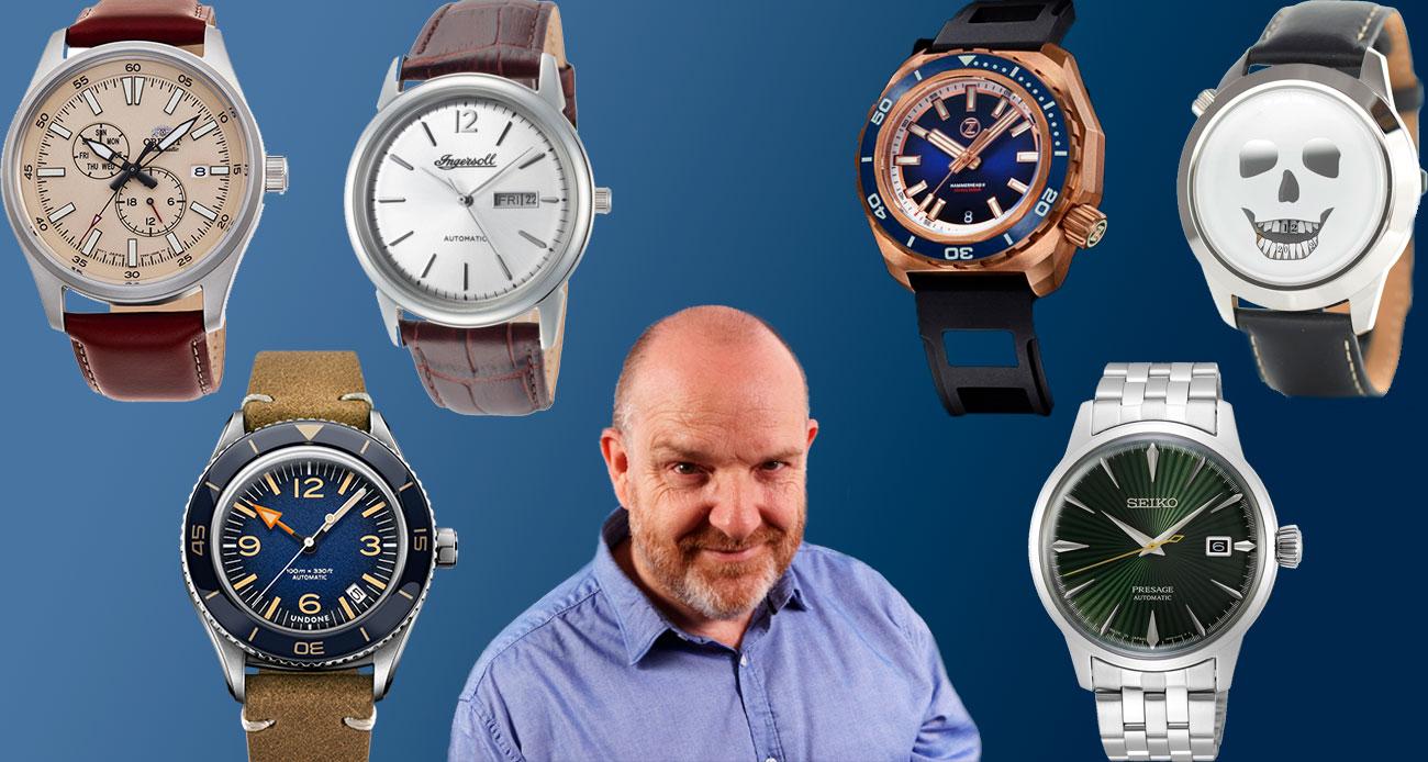 Seis relojes mecánicos por menos de 500 euros