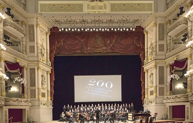 Semper Opera Dresde Reloj Gutkaes