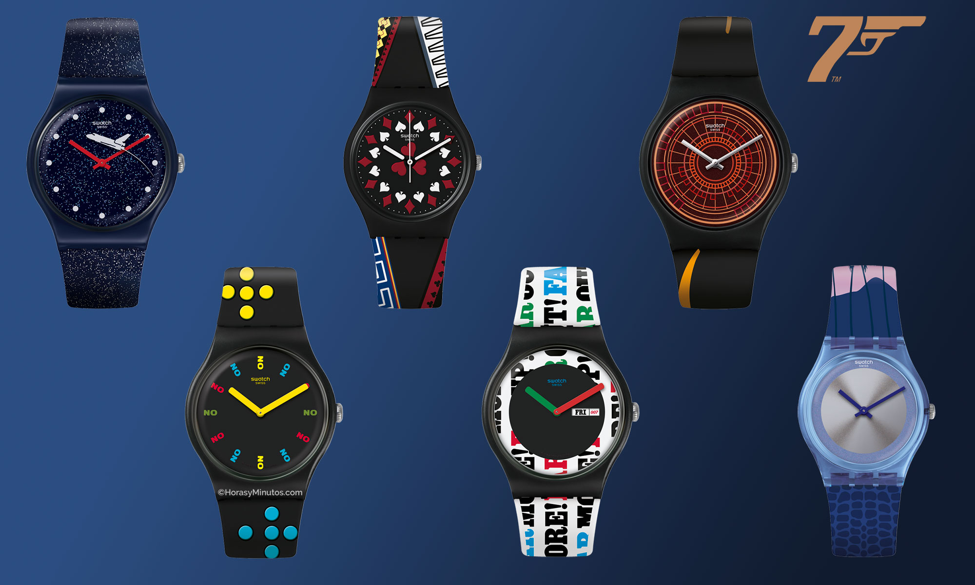 Swatch James Bond Collection 2020