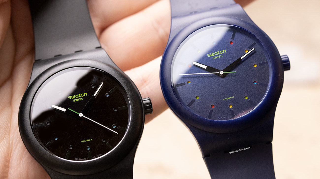 Los Swatch Sistem51 Ecológicos