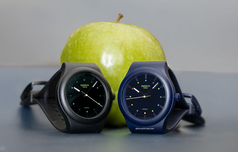 Los dos Swatch Sistem51 Ecológicos