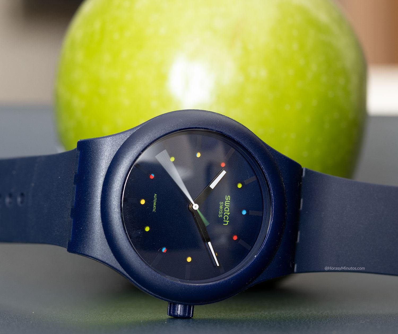 Swatch Sistem51 Ecológico azul