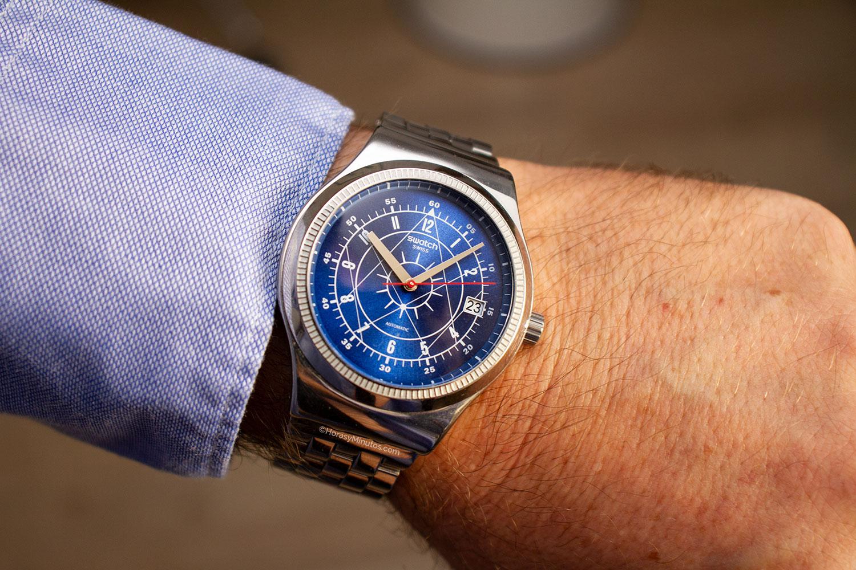 El Swatch Sistem51 Irony Boreal