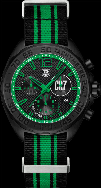 TAG Heuer 42 mm Chronograph Ronaldo Special Edition