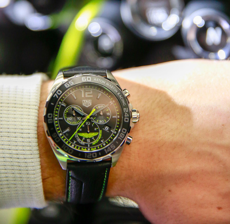 ed3a0100e3d Nuevos TAG Heuer Aston Martin Special Edition Chronograph