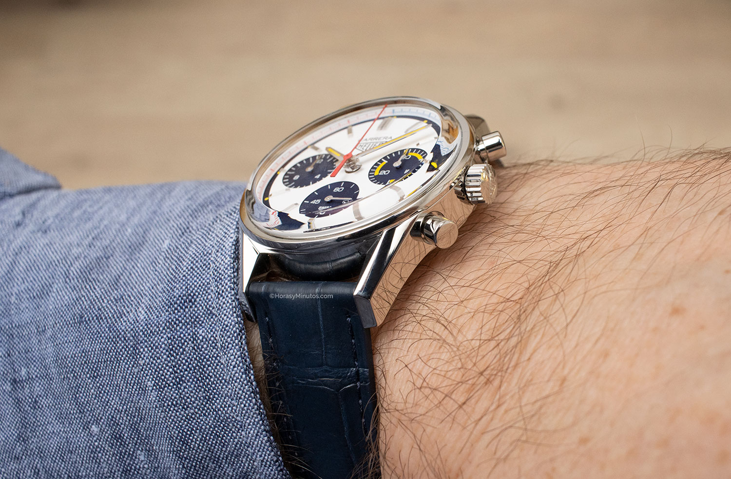 Perfil del TAG Heuer Carrera 160 Years Montreal Limited Edition