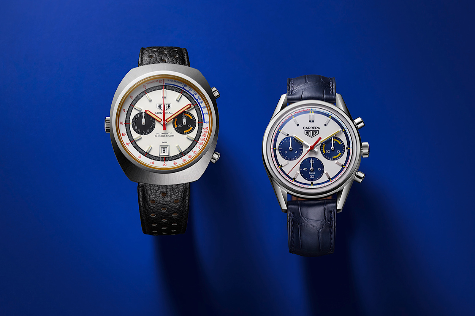 Heuer Montreal y TAG Heuer Carrera 160 Years Montreal Limited Edition