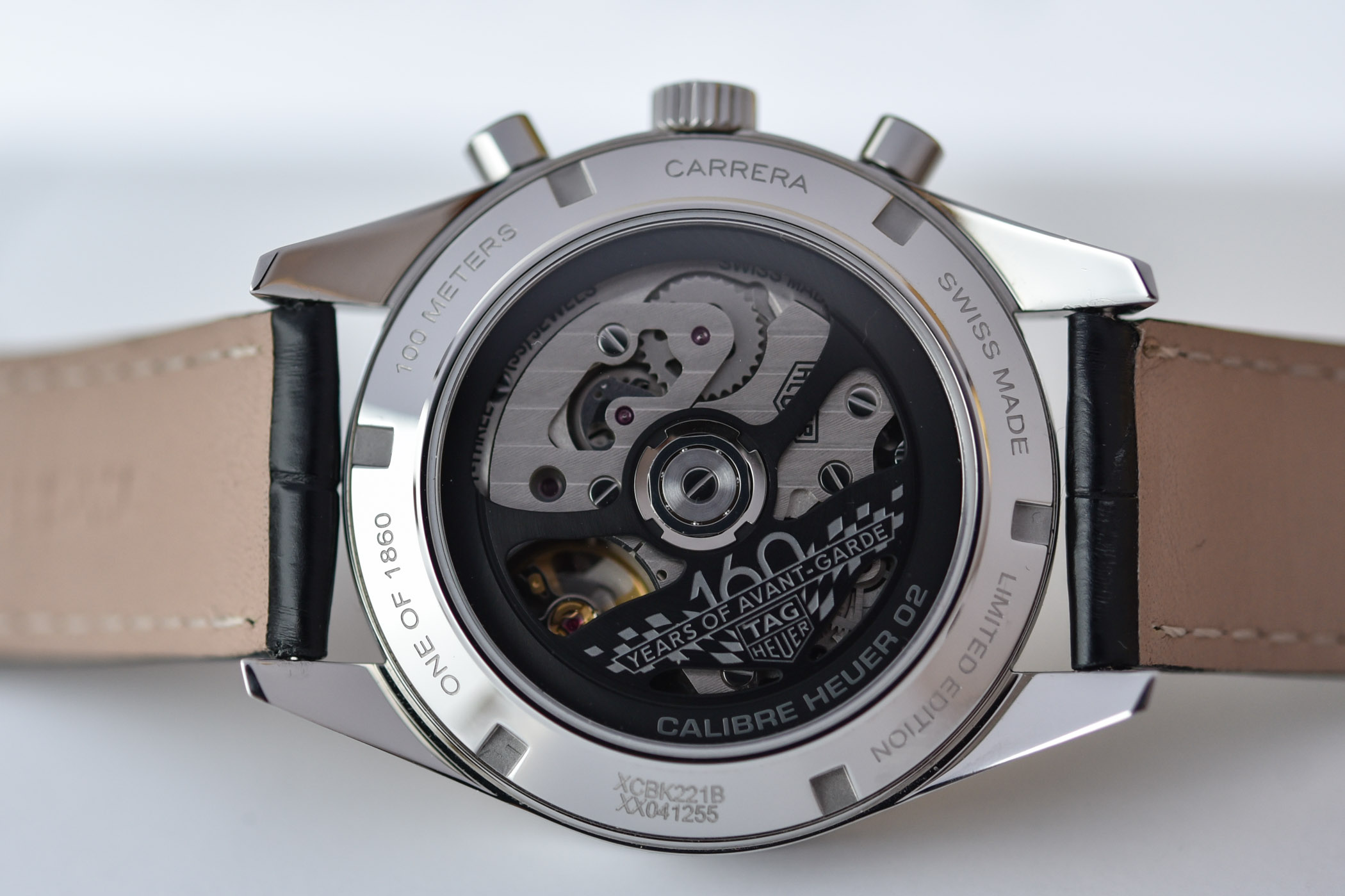 Calibre Heuer 02 del TAG Heuer Carrera 160 Years Silver Limited Edition