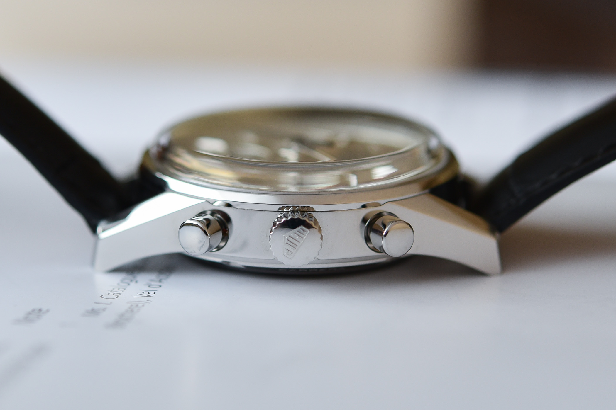 Perfil del TAG Heuer Carrera 160 Years Silver Limited Edition