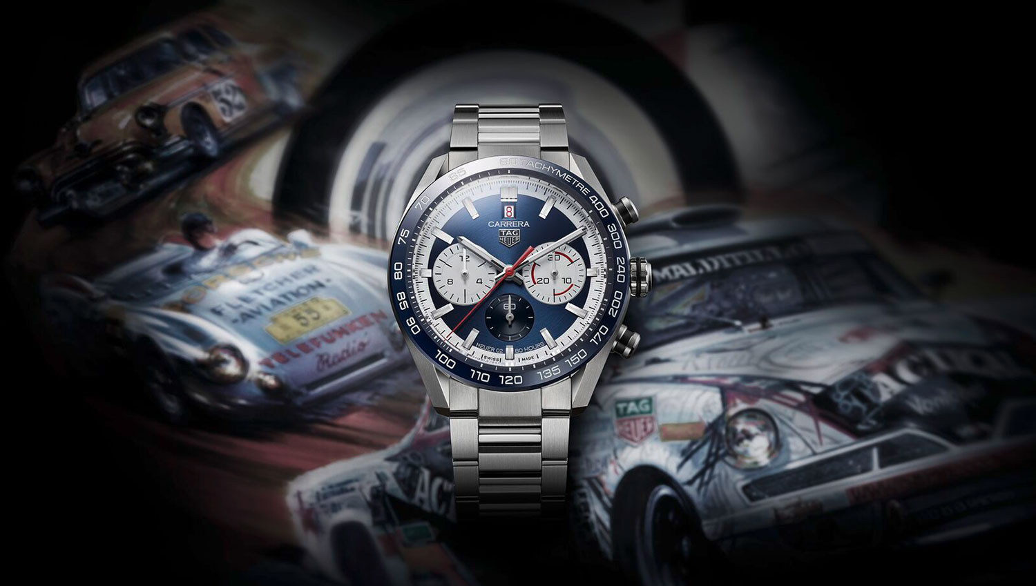 TAG Heuer Carrera 160 years Special Edition azul